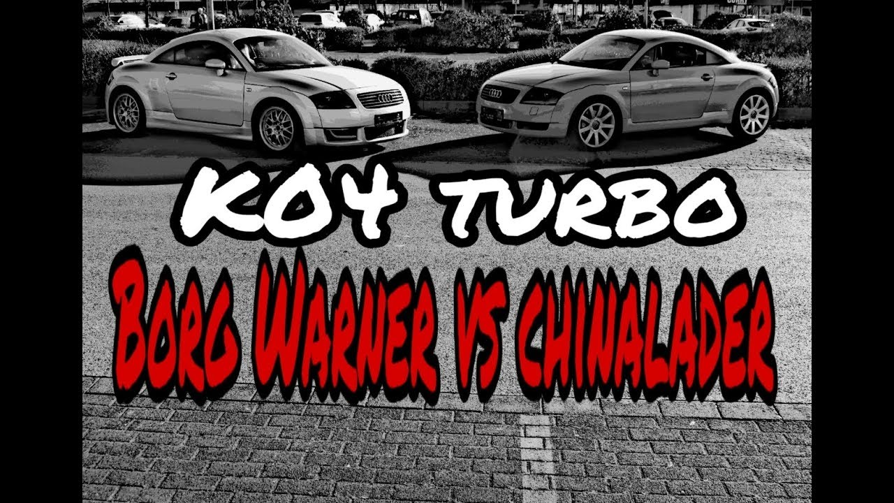 Borg Warner K04 Size