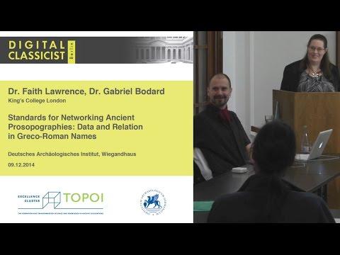 Digital Classicist Seminar Berlin (2014/2015) - Seminar 5