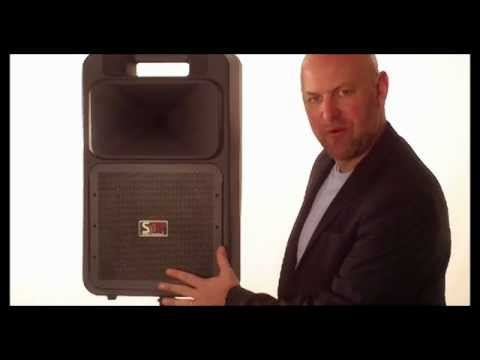 Sound Machine SM4 Portable Sound System: Basinger Audio Systems
