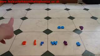 Letters and Sounds Phase 4: Kitchen Floor Phoneme Frame Part 3