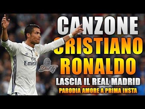 CANZONE CRISTIANO RONALDO lascia il REAL MADRID ⚽ [ Parodia Shade - Amore A Prima Insta ] Prod.DEEP