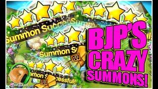 SUMMONERS WAR: BJP's Crazy Summon Session!!