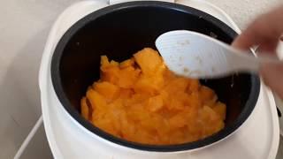 Суп пюре из замороженной тыквы