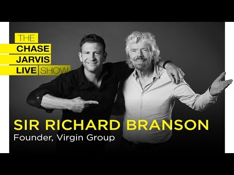 Richard Branson: Lessons in Business and Life | Chase Jarvis