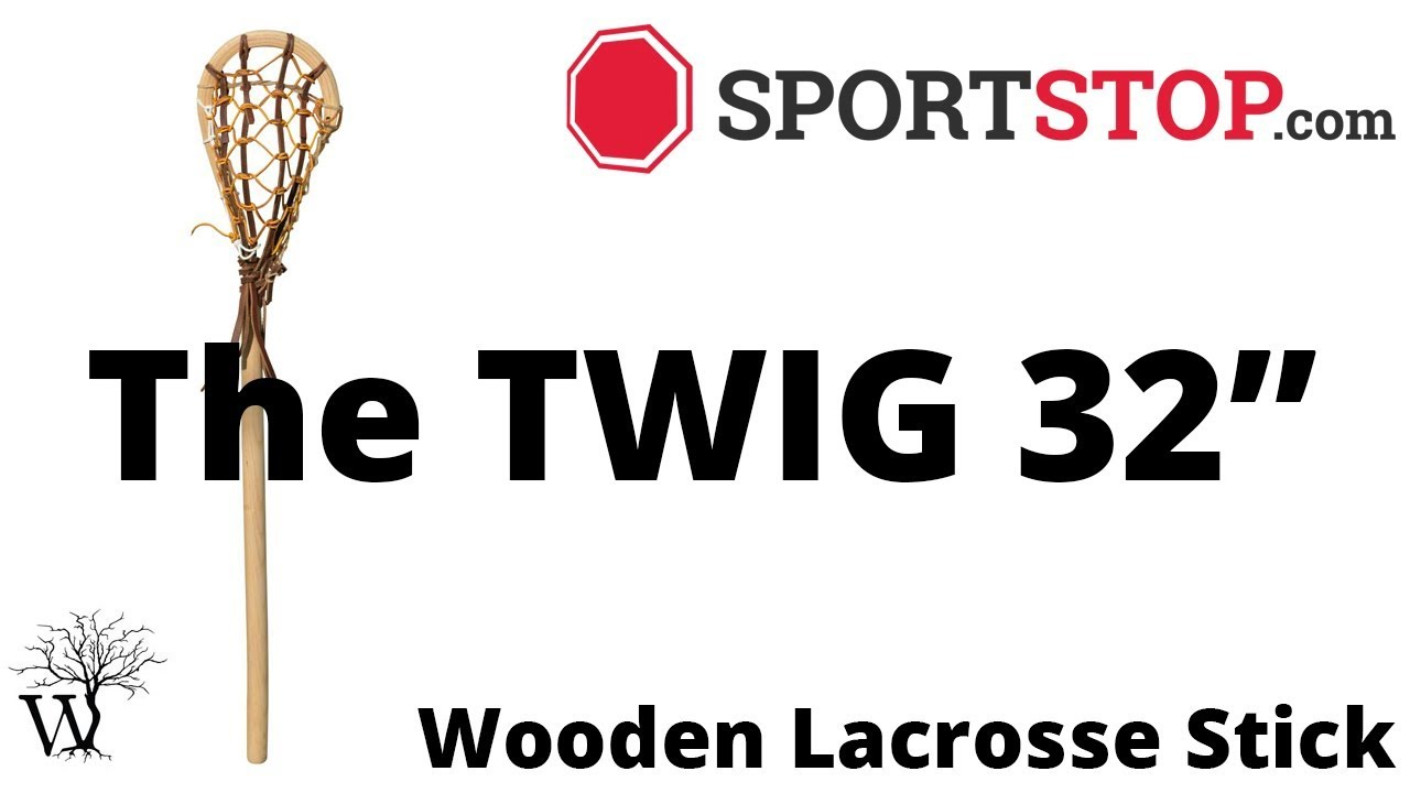 The Twig 32 Wooden Lacrosse Stick Product Video At Sportstopcom