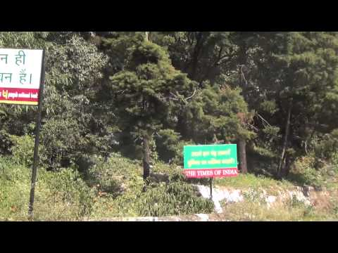 On the Way to Mussoorie from Dehradun in the Hills in Full HD Part 1