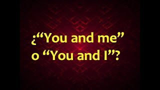 """Video """"You and me"""" o """"You and I""""? download MP3, 3GP, MP4, WEBM, AVI, FLV September 2017"""