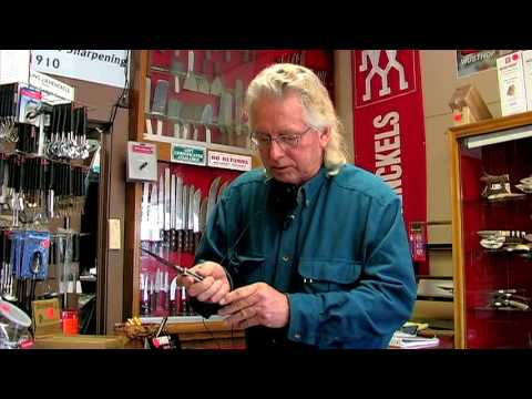 Knives & Knife Sharpening : How To Open A Butterfly Knife