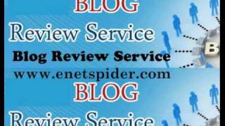 Blog Review Service