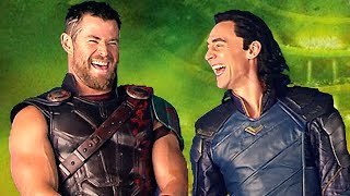THOR RAGNAROK : The Hilarious Blu-ray Extras (2018) Thor 3, Marvel Superhero Movie HD
