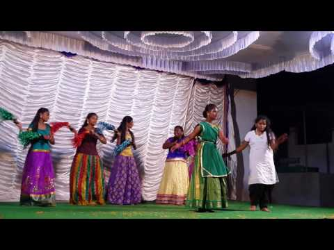 Illalona Pandaganta Kallalona Kanthulanta Christian Song Best Dance Performance By CSI P-3 Nandyal