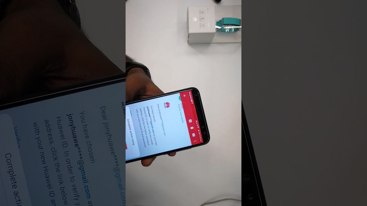 How to register a HUAWEI ID