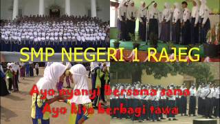 EAT BULAGA INDONESIA - SMPN 1 RAJEG (Lyrics)
