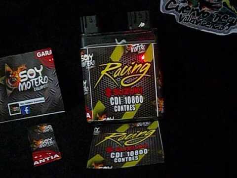 cdi racing para gixxer 150  colombia y latinoamerica