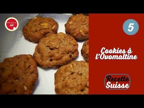 {Petit grain de Noël} - Recette suisse - 5. Cookies à l'Ovomaltine