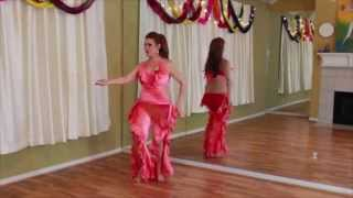 FREE Belly Dance Class!  How to do an Omi (Hip Circle) with a Twist