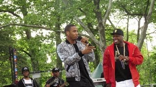 Скачать Trey Songz Performing Smoke With 50 Cent In NYC GMA
