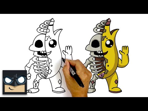 How To Draw PEELY BONE | Fortnite Skin