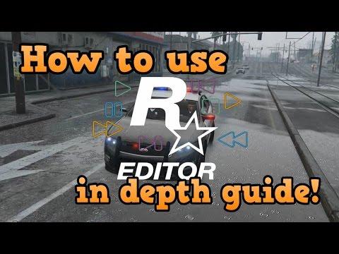 GTA online guides - Rockstar editor in depth