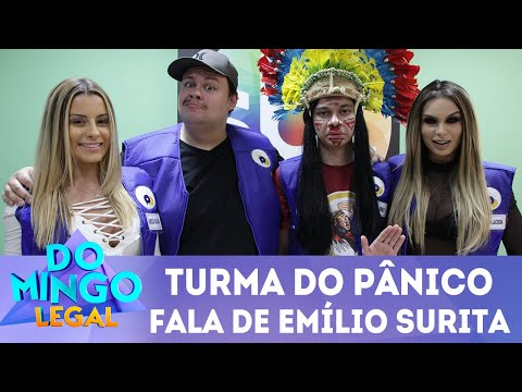 Como é trabalhar com Emílio Surita? O time do Pânico conta!   Domingo Legal (01/07/2018)