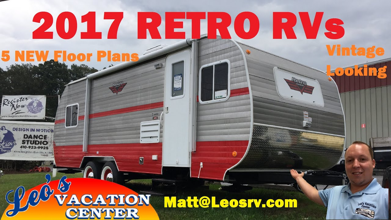 2017 Riverside Rv White Water Retro Travel Trailers All
