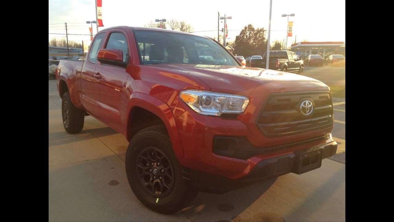 Toyota Tacoma Towing Capacity >> 2017 Toyota Tacoma Access Cab 4 Cyl 4WD Review / 1000 ...