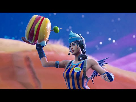 Fortnite New Skin Sizzle SGT Part Of Durr Burger