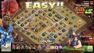 Clash of Clans⭐EASY! 3-STAR TH12 & TH11.95⭐AIR & MINER STRATEGY ATTACK