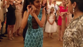 Indian Dance at Polish Wedding