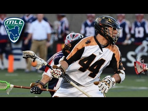 David Lawson 2013 MLL Highlights