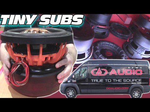 """BIG SOUND from 8"""" Subwoofers w/ 16 Digital Designs Subs & INVERTED 15's in a SMALL Car Audio Install"""