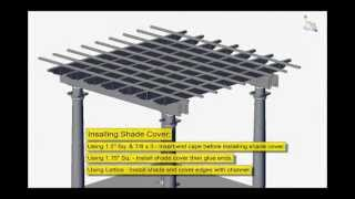 Pergola Installation Instructions