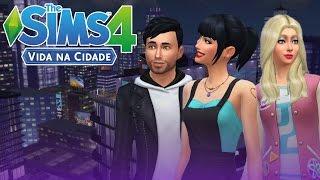 AMIGOS NA CIDADE!! (NOVA SÉRIE) - THE SIMS 4