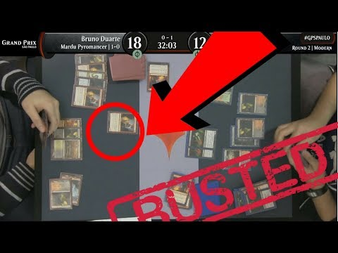 MTG CHEAT CAUGHT ON CAMERA & JUDGE DOES NOTHING