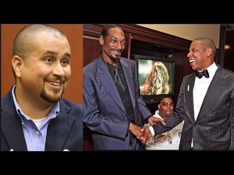 """Snoop Dogg To George Zimmerman: """"You Wont Be Touching A Hair On The Head Of Jay-Z"""
