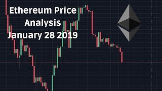 Ethereum Price Technical Analysis January 28 2019