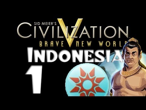 Civilization 5: Indonesia / Archipelago - #1