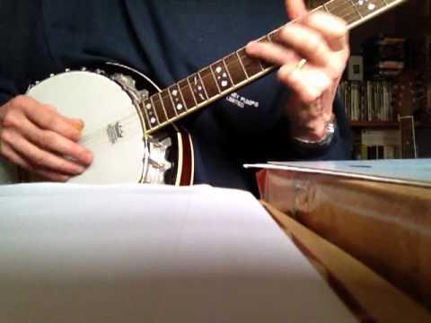 The Rocky Road to Dublin on the Banjo - YouTube