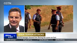 Barcelona attack: Alleged suspect Younes Abouyaaqoub shot dead by police