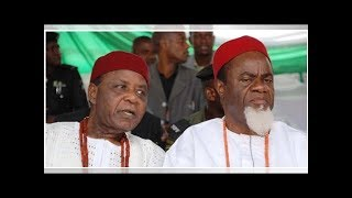 After holding Nigeria down for long, Yoruba, Igbo have realised their mistakes –Ezeife
