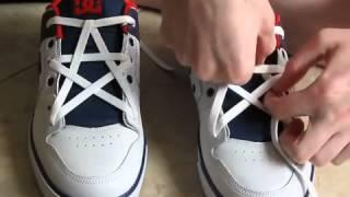 Cara mengikat tali sepatu berbentuk bintang