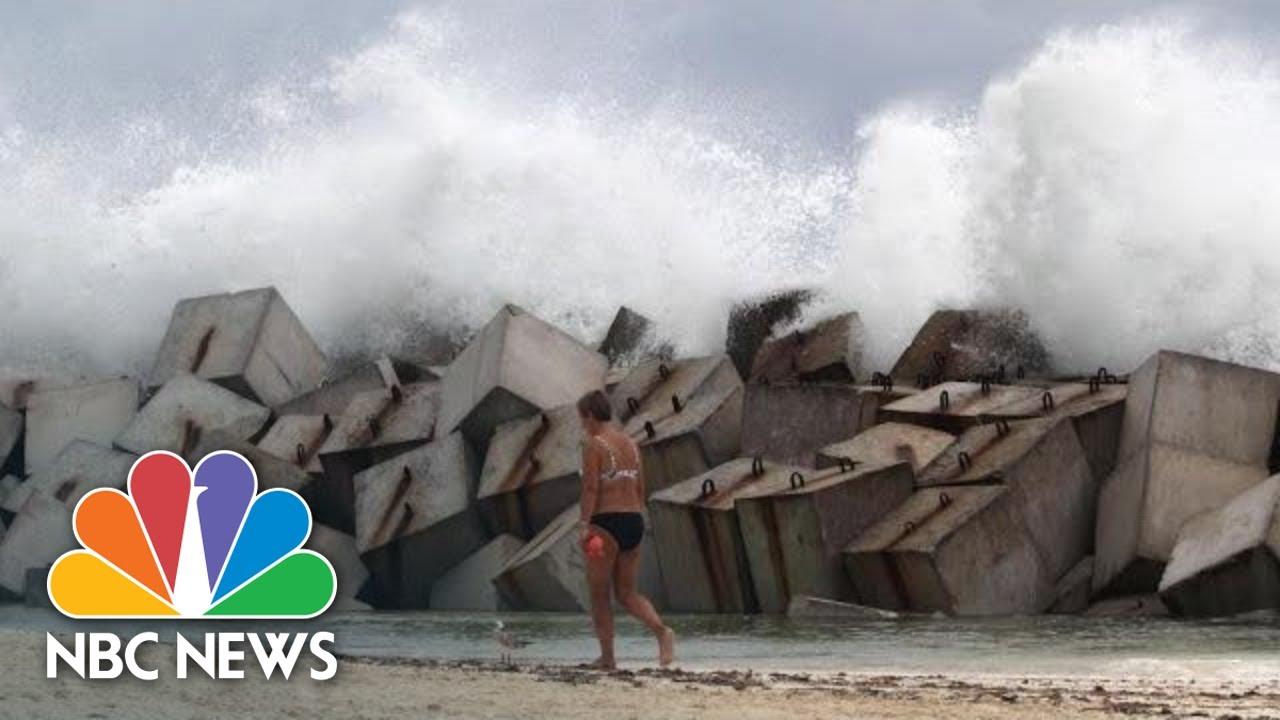 Hurricane Michael Lashes Cuba, And Barrels Toward Gulf Coast | NBC News