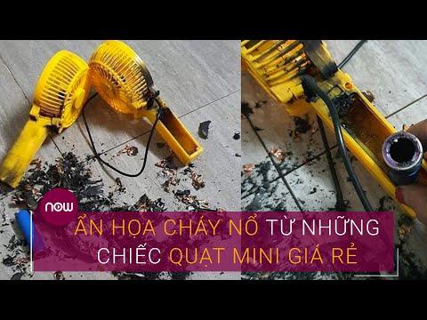 Ẩn họa cháy nổ từ những chiếc quạt mini giá rẻ | VTC Now