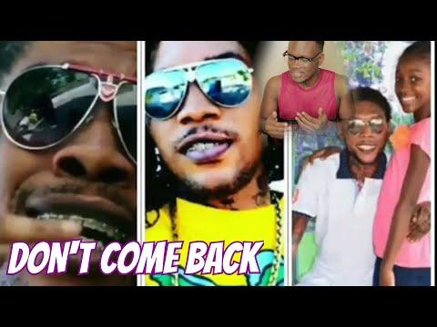 Vybz Kartel-  Don't Come Back  || Reaction Video