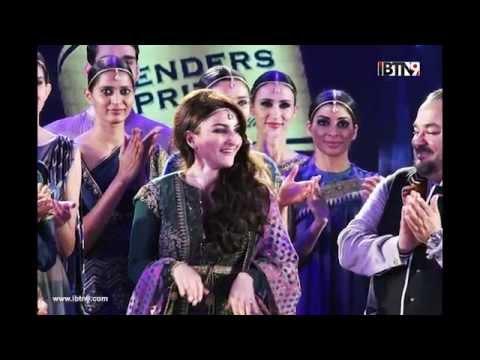 Lisa Haydon & Soha Ali Khan at Blenders Pride Fashion Tour 2015 Kolkata