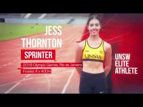 UNSW Elite Athlete Jess Thornton