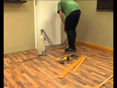 Diy Laminate Floors How To Install Skirtings And Trims