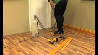 diy laminate floors   how to install skirtings and trims for laminate floors