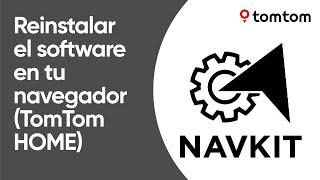 Cómo reinstalar el software en tu navegador usando TomTom HOME