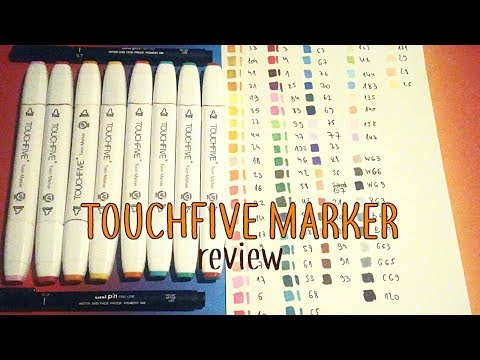 CHEAP COPIC ALTERNATIVE | Touchfive marker review